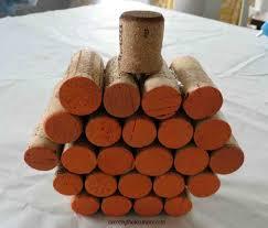 diy wine cork pumpkin tutorial decor by the seashore
