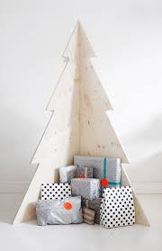 White Wooden Christmas Decorations by Best 25 Corner Christmas Tree Ideas On Pinterest Nordic