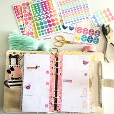 Journal Decorating Ideas by I Used The Happie Scrappie Monthly Kit To Decorate This Week U0027s
