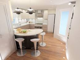 Kitchen Peninsula Design by Curved Kitchen Designs Excellent Clever And Stylish Small Kitchen