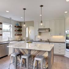 Floating Shelves Kitchen by Best 20 Floating Kitchen Island Ideas On Pinterest Farm Style