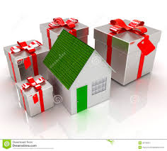 house gift house and gifts stock illustration image of gift ornament 36108351