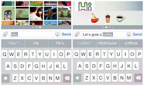 how do you send a telegram telegram with aniways suggests gifs and smart emoticons as you type