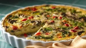 Quiche Recipe Ina Garten Spinach Mushroom Quiche Recipe Bettycrocker Com