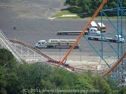 Six Flags Magic Mountain by Metro Monorail Removed At Six Flags Magic Mountain The Coaster Guy