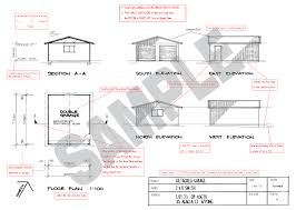 Detached Garage Floor Plans by G445 Plans 48 X 28 10 Cape Cod Garage Blueprints With 48x28