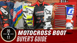 motocross boots best motocross boots 2017 youtube