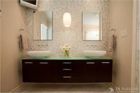 Bathroom Floating Vanity by Modernizing A 1970 U0027s Bathroom U2013 T R Builder Inc