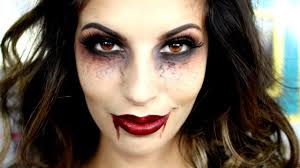 last minute halloween vampire makeup tutorial 2015 youtube