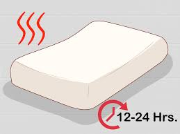 How To Clean Couch Cushion Foam 3 Ways To Clean A Memory Foam Pillow Wikihow