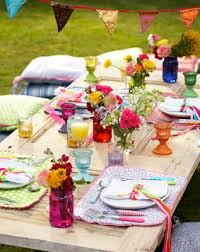decorate a easter spring party table living rooms house beautiful