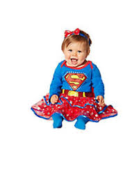 Supergirl Infant Halloween Costume Superheroes Baby Costumes Infant Costumes Spirithalloween