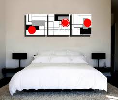 canvas art for bedroom descargas mundiales com aliexpress com buy 3 piece hd print cheap red black white modern artwork abstract canvas art