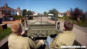 Riding A World War 2 Ford Gpa