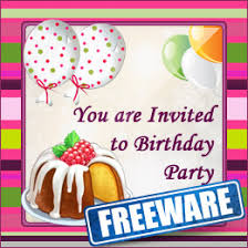 freeware birthday party invitation card maker software for mac