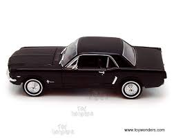 1964 Black Mustang 1964 Ford Mustang Coupe Hard Top By Welly 1 24 Scale Diecast Model