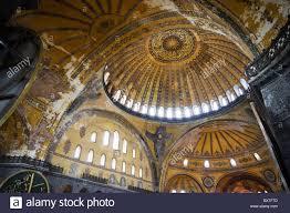 byzantine architecture hagia sophia church stock photos