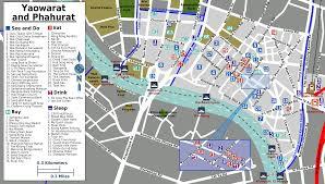 Bangkok Map Chinatown Bangkok Sm Hub