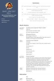 project leader resume samples visualcv resume samples database