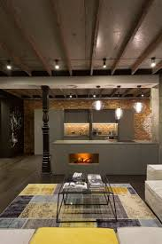notice exposed beams but use foamboard insulation between beams
