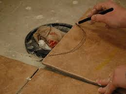 Cut To Fit Bathroom Rugs How To Install Tile On A Bathroom Floor Hgtv