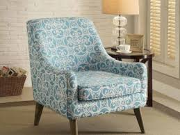 Blue And White Accent Chair Accent Chairs