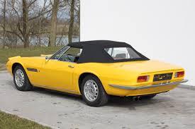 classic maserati convertible 1968 maserati ghibli spyder coys of kensington