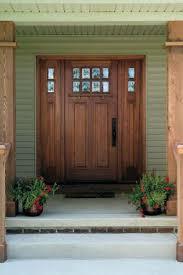 Wood Exterior Entry Doors Exterior Front Doors With Sidelights Wood Front Entry Doors With