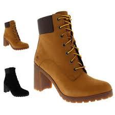 womens ankle boots uk ebay womens timberland arllington 6 inch lace block heel fashion ankle