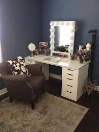 bedroom vanity mirror with lights for bedroom diy makeup sit to