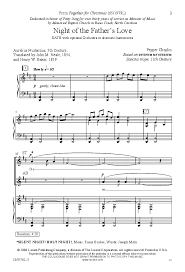 of the s satb by pepper j w pepper sheet