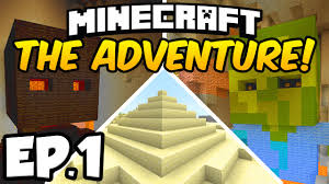 Adventure Map Minecraft The Adventure Ep 1 The Mysterious Darkness