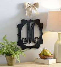 monogram plaques decorate any room with the distressed wood monogram plaques