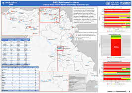 Iraq Map World by World Health Organization Suspends Iraqi Health Programs