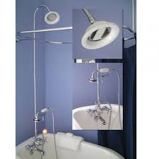 Clawfoot Tub Faucet With Shower Clawfoot Tub Shower Kit Lowes Best Shower