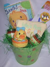 baby s easter gifts baby s 1st easter basket he has risen easter