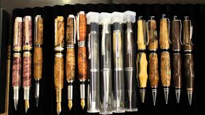 Handcrafted Wooden Pens - sculpted wood custom pens and handmade pens