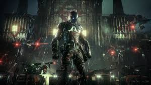 screenshot from in game engine of batman arkham knight yes the