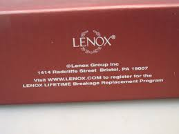lenox china christmas ornament in our hearts forever your memory