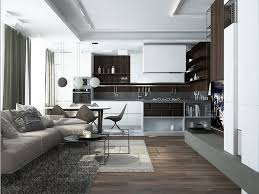 designs by style open plan living room and kitchen luxury homes