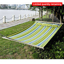 outsunny wooden outdoor garden 2 person double hammock bed swing