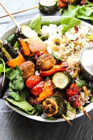 Roast Vegetable Recipe by Mediterranean Roasted Vegetable Pilaf Bowls Layers Of Happiness