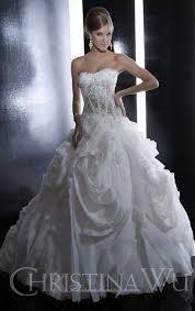 wu bridal wu wedding gown 15516 sample