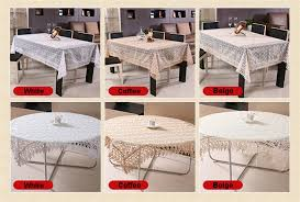 tablecloth for coffee table european elegant organdy translucent embroidered lace round dining