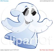 spooky clip art clipart spooky halloween ghost 3 royalty free vector