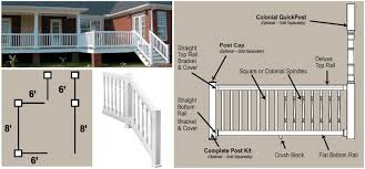 fypon quickrail deck railing pvc vinyl
