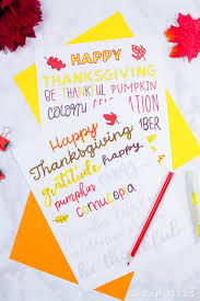 free thanksgiving handlettering practice sheets titus