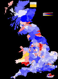 Uk Election Map by Uk Alternate Coloring