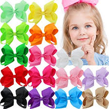 toddler hair bows 15pcs 4 5 inch hair bows for grosgrain boutique