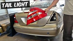 mercedes light replacement mercedes w211 light removal replacement